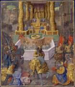 הורדוס כובש את ירושלים. תמונה מימי הביניים