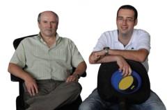 מימין: ארז גרשנבל ופרופ' איליה אברבוך. סיחרור