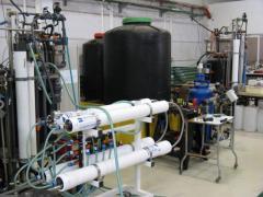 """הפיילוט להתפלה וטיפול במים ברמת חובב בידי חוקרי אוני' ב""""ג - מראה כללי. צילום: יחסי ציבור"""