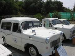 מכונית סוסיתא 1966 מתוצרת ישראל ששימשה את הדואר. צילום: מתוך ויקיפדיה