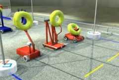 זירת קרב של רובוטים