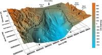 הדמיה תלת מימדית של קרקעית צפון מפרץ אילת והסביבה ההררית