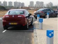 עמדת הטענה למכוניות החשמליות של חברת בטר פלייס. צילום: מתוך ויקיפדיה