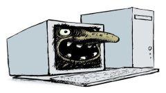 קריקטורה של טרול אינטרנט המבוססת על הטרול הנורדי