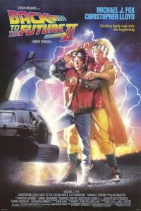 """כרזת הסרט """"בחזרה לעתיד 2"""". מתוך ויקיפדיה"""