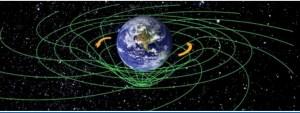 """עיקום הזמן-חלל לפי משוואות איינשטיין. איור: נאס""""א"""