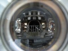 מערכת לגילוי ספין של אטום בודד. צילום: מכון ויצמן