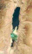 ים המלח - מבט מהחלל