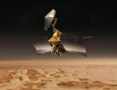 תפיסת אמן של MRO במסלול סביב מאדים