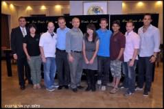 הבלוגרים שהגיעו לפרויקט פעם בחיים 2.0 ומארחיהם - סטודנטים מהטכניון ואוניברסיטת חיפה