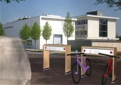 תחנות טעינה ירוקות לרכבים חשמליים. איור: מכון פרנהאופר
