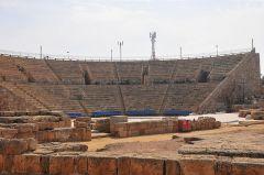 האמפיתיאטרון בקיסריה. מתוך ויקיפדיה