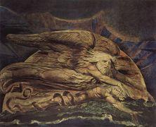 אלוהים בורא את האדם. ויליאם בלייק, ציור משנת 1795 מתוך ויקיפדיה
