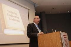 אוגוסטין בכנס הישראלי להנדסת מערכות שהתקיים בטכניון, ינואר 2012