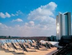 """מתקן השמש של מכון ויצמן להפקת דלק מדו תחמוצת הפחמן. תמונת יח""""צ - מכון ויצמן"""