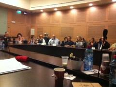 ישיבת ועדת הפנים והגנת הסביבה של הכנסת, 26 ביוני 2012 צילום: חגית טישלר