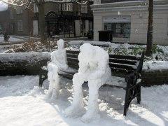 נשות שלג. בבריטניה. צילום: מתוך ויקישיתוף