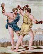 איגרוף ברומא העתיקה. איור