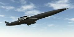 הדמיה של מטוס החלל סקיילון בעת טיסה. איור: Reaction Engines Ltd