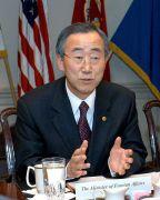 """מזכ""""ל האו""""ם באן קי-מון. מתוך ויקיפדיה"""