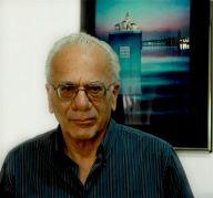פרופ' גדעון דגן, חתן פרס ישראל למדעי כדור הארץ 2013. צילום: מתוך ויקיפדיה