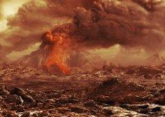 האם בנוגה יש עדיין הרי געש פעילים? איור: סוכנות החלל האירופית, בהסתמך על ממצאי החללית ונוס אקספרס, דצמבר 2012