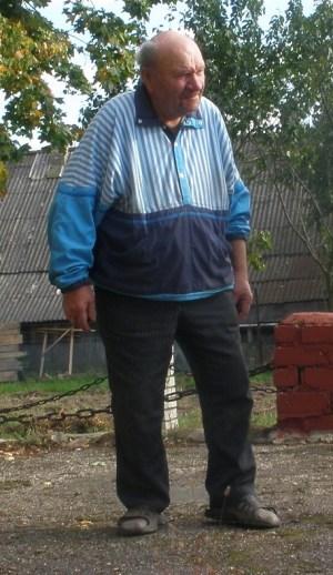 אוסיפ טורביש, עד ראיה לטבח ב-1,040 יהודי קורניץ ב-9 בספטמבר 1942. צילום: אבי בליזובסקי, 16 בספטמבר 2012