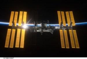 """תחנת החלל הבינלאומית. צילום: נאס""""א"""