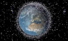הלוויינים טסים בצפיפות העלולה לגרום להתנגשויות. אילוסטרציה: סוכנות החלל האירופית (ESA)