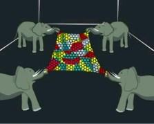 המחשה לעוצמתה של יריעת גרפן מטולאת. איור: אוניברסיטת קולומביה