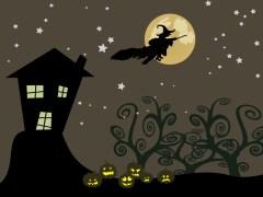 """מכשפות ב""""ליל כל הקדושים"""". איור: shutterstock"""