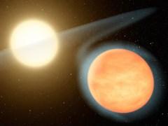 """כוכב לכת עם אטמוספירה עבה. איור: נאס""""א"""