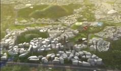 עיר חכמה בניגריה. צילום מסך מתוך סרטון תדמית של ממשלת ניגריה.