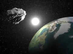 אסטרואיד קרוב ארץ. איור: shutterstock