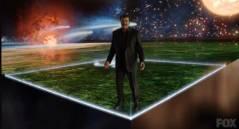 """לוח השנה הקוסמי, תמונת מסך מתוך הסדרה """"קוסמוס"""" בהגשתו של ניל דה-גראס טייסון. צילום: FOX ו-NATIONAL GEOGRAPHIC"""