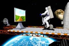 אימוני אסטרונאוטים. איור: shutterstock