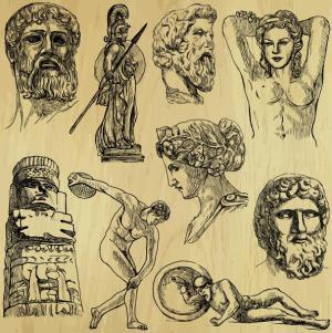 ספורט בעת העתיקה. איור: shutterstock