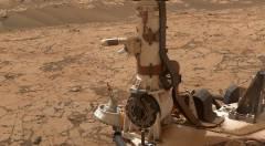"""התחנה המטאורולוגית המותקנת על רכב המאדים קיוריוסיטי. צילום: נאס""""א"""
