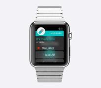 """אפליקצית MEDISAFE המזכירה לקחת תרופות פועלת על השעון החכם החדש של אפל. צילום יח""""צ"""