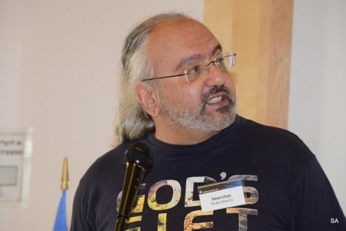 פרופ' סימון ליצין בכנס ה-IEEE באוניברסיטת תל אביב. צילום: שמואל אוסטר