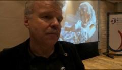 האסטרונאוט ריינולד אוולד בכנס ה-IAC בירושלים, 16/10/15. צילום: אבי בליזובסקי