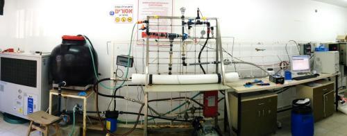 מערכת המחקר בפקולטה להנדסה אזרחית וסביבתית בטכניון. צילום: לירון אופק