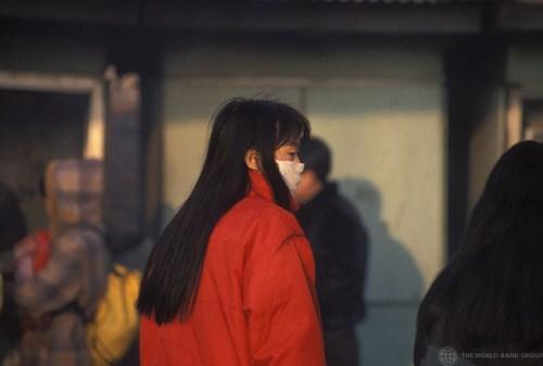 זיהום אוויר בסין. צילום: World Bank Photo Collection, Flickr