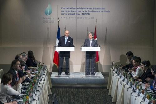 הכנות לפתיחת ועידת פריז. צילום: Ministerio del Ambiente, Flickr