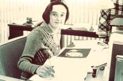 ביאטריס טינסלי באוניברסיטת ייל בשנת 1977. צילום: אוניברסיטת ייל