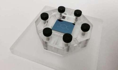 """מערכת על שבב לאבחון מיידי של מחלות. צילום: יח""""צ - יבמ"""