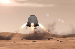 "MARS DRAGON - חללית שחברת SPACEX מתכננת לשגר למאדים. צילום יח""צ"