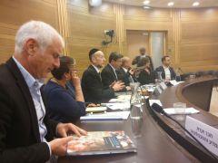 דיווח שר המדע אופיר אקוניס לוועדת המדע של הכנסת, 23/1/17. צילום: דוברות וועדת המדע