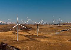 """חוות רוח באיידהו, ארצות הברית. תצלום: ממשלת ארה""""ב / ויקימדיה."""