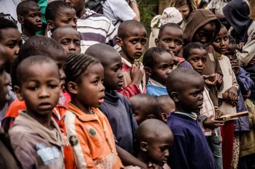 חלדים בקניה. מעתה ועד 2050 יתחולל בחלק מארצות אפריקה גידול אוכלוסייה מהיר שיפעיל לחצים על אספקת המזון ועלול להוביל למחסור, כמו במשבר הנוכחי בדרום סודן. צילום: Evandro Sudré.